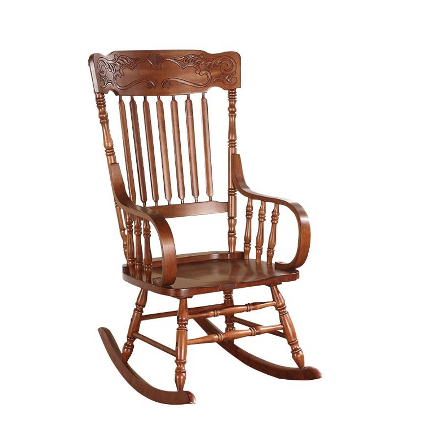 Phenomenal Acme Furniture Kloris Tobacco Rocking Chair Caraccident5 Cool Chair Designs And Ideas Caraccident5Info