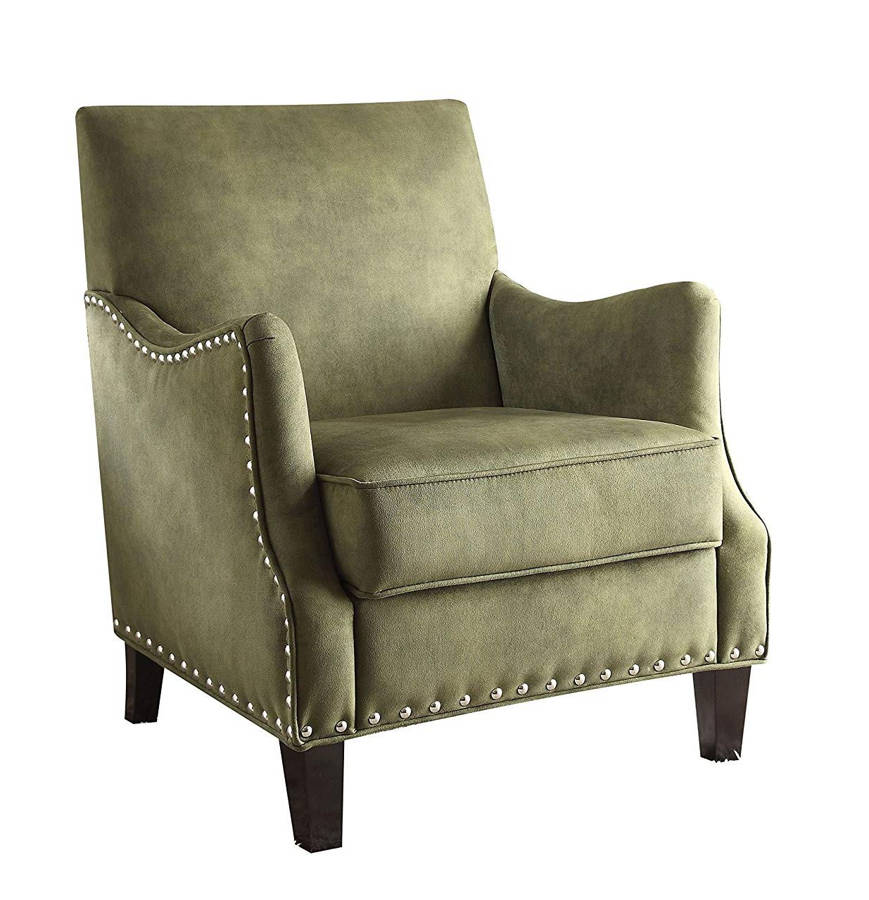 Acme Furniture Sinai Olive Accent Chair The Classy Home