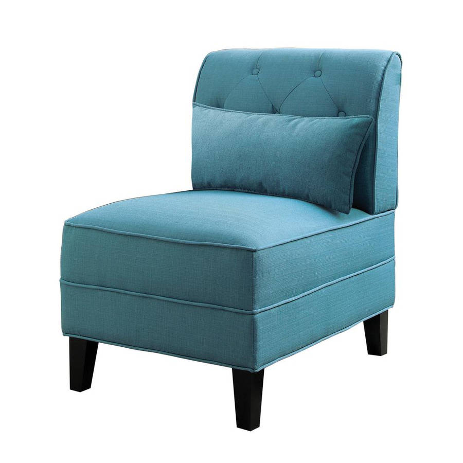 Phenomenal Acme Furniture Susanna Teal Accent Chair With Pillow Gmtry Best Dining Table And Chair Ideas Images Gmtryco