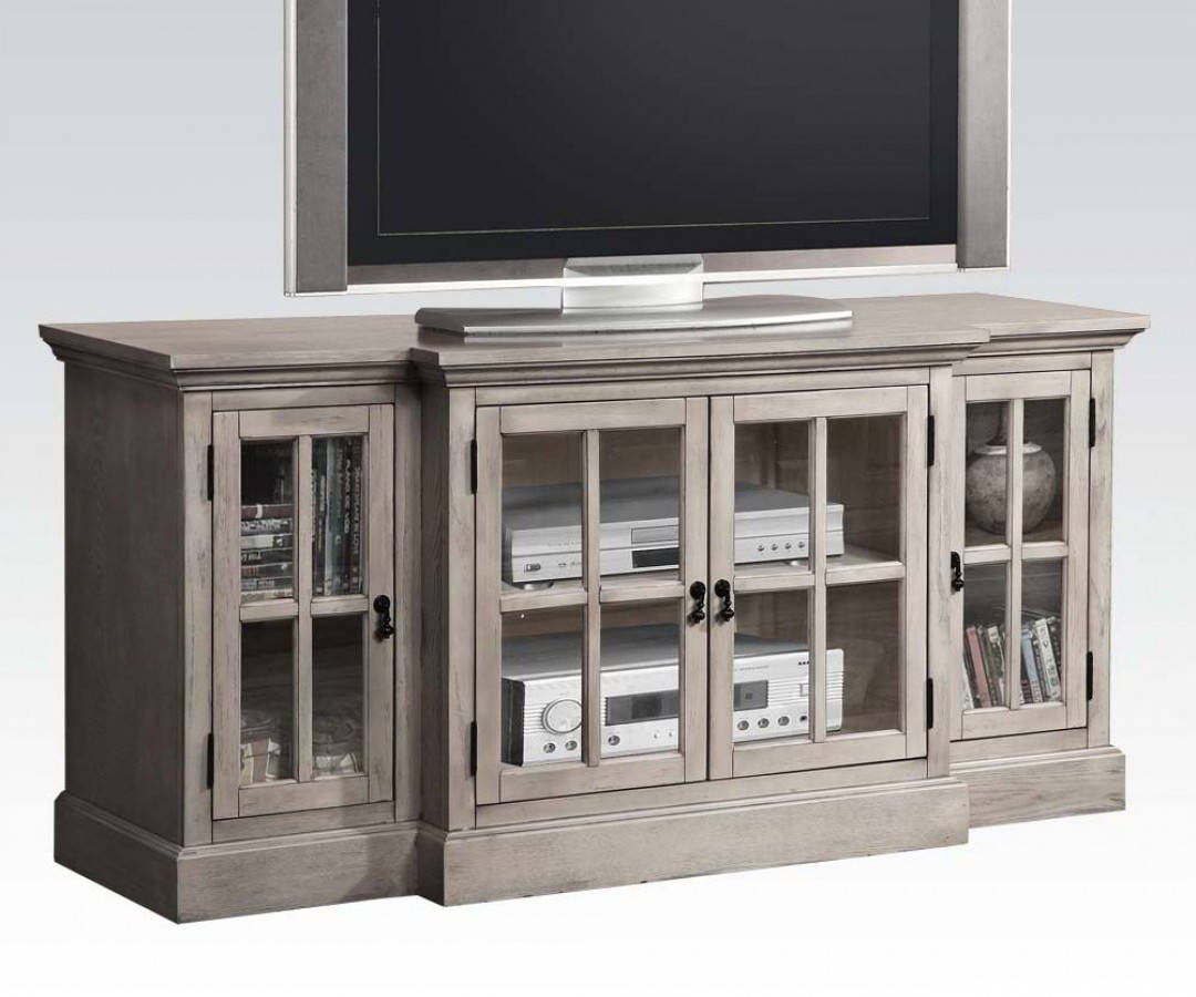 Acme Furniture Julian Gray TV Stand