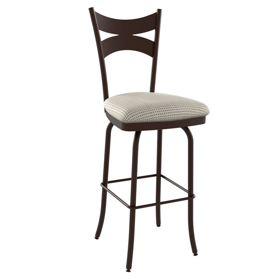 Meadow Swivel 34 Inch Stool The Classy Home