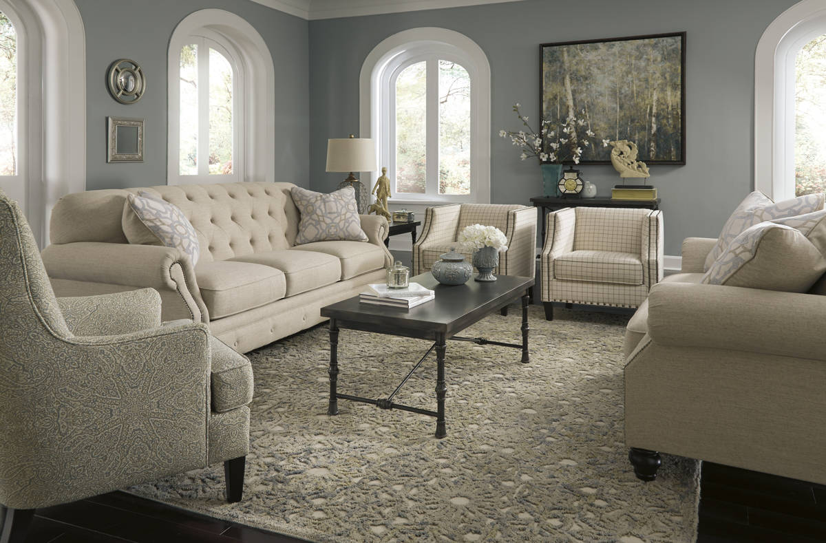 Kieran natural natural chateau living room set living for Best living room set deals