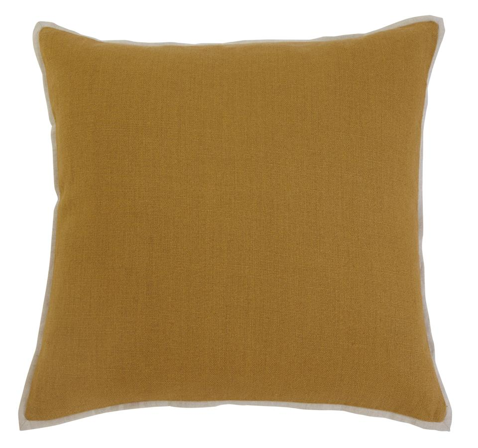 Ashley Furniture Solid Mustard Pillow Cover