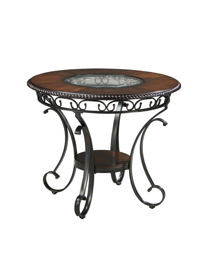 Ashley Furniture Glambrey Brown Round Counter Table The
