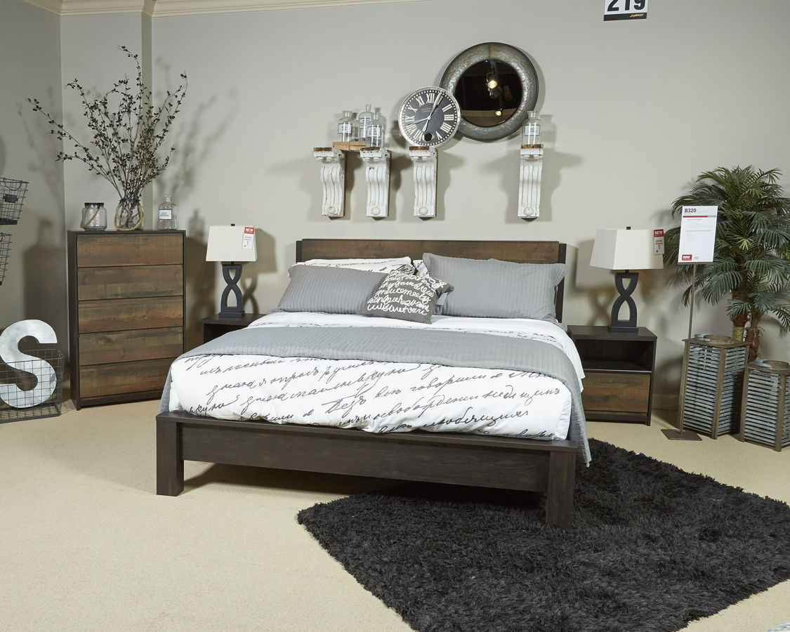 Ashley Furniture Windlore 2pc Bedroom Set With Queen Panel Bed The Classy Home