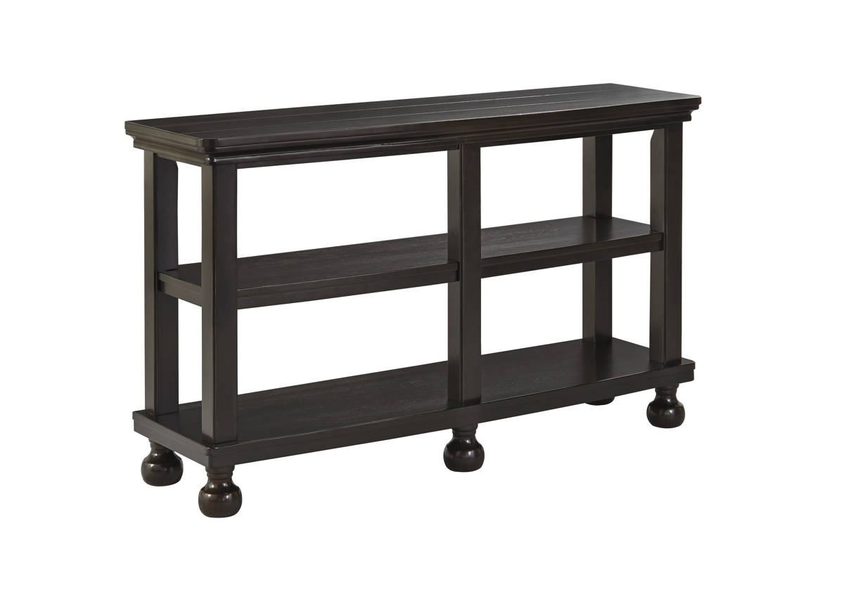 Tellbane Coffee Table.Tellbane Vintage Casual Black Wood Sofa Table The Classy Home