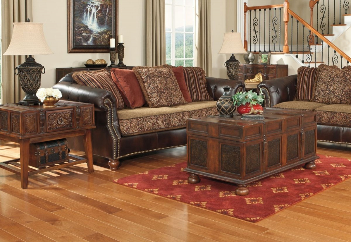 Ashley Furniture Mckenna 3pc Coffee Table Set The Classy Home