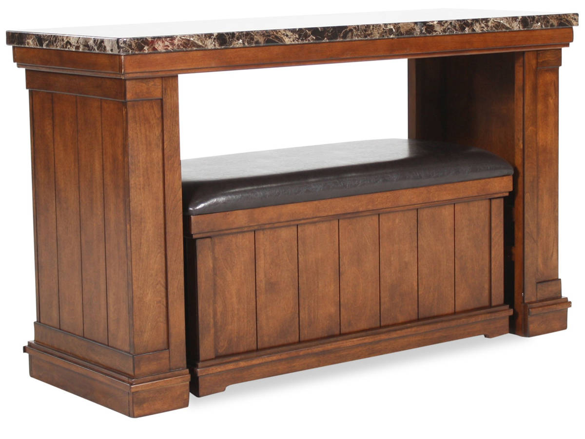Ashley Furniture Merihill Sofa Table With Ottoman The