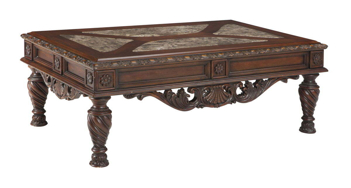 Ashley furniture north shore cocktail table the classy home for Ashley furniture north shore chaise