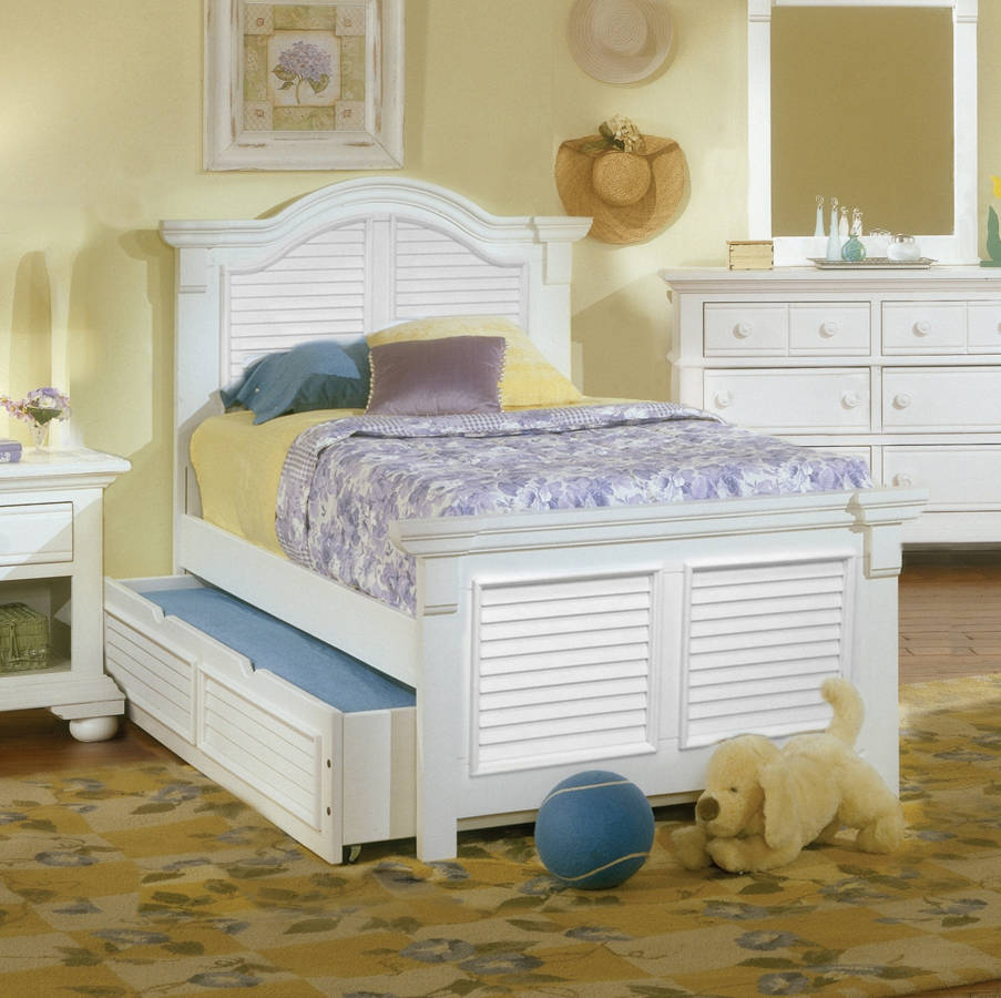 Tremendous American Woodcrafters Cottage Traditions Full Trundle Bed Best Image Libraries Counlowcountryjoecom