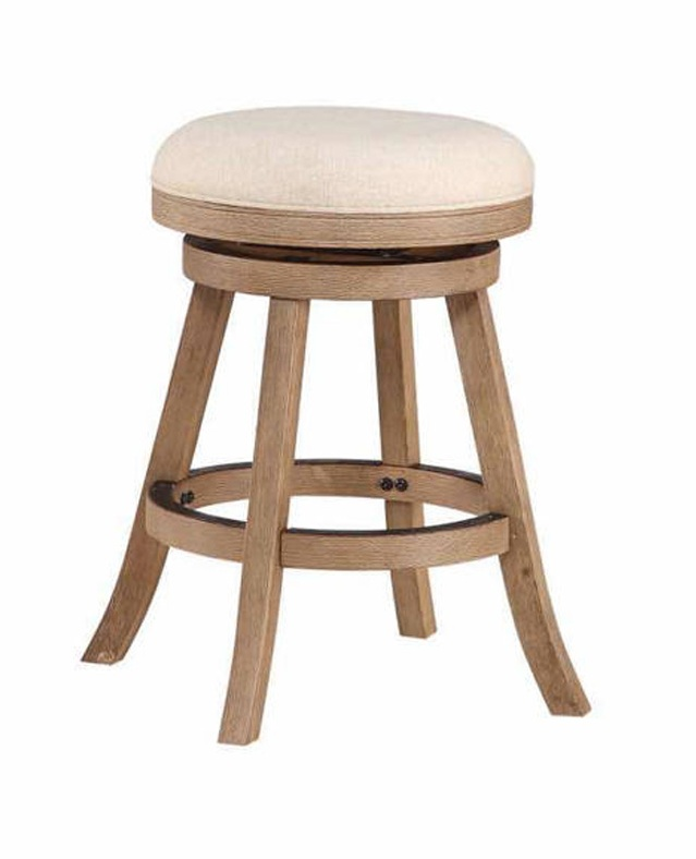 Surprising Boraam Fenton Driftwood Gray 24 Inch Counter Stool Caraccident5 Cool Chair Designs And Ideas Caraccident5Info