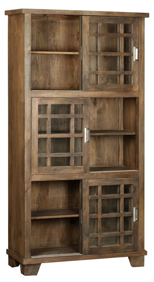 buy online 388b1 17e36 Crestview Collection Bengal Manor Coffee 3 Tier Bookshelf