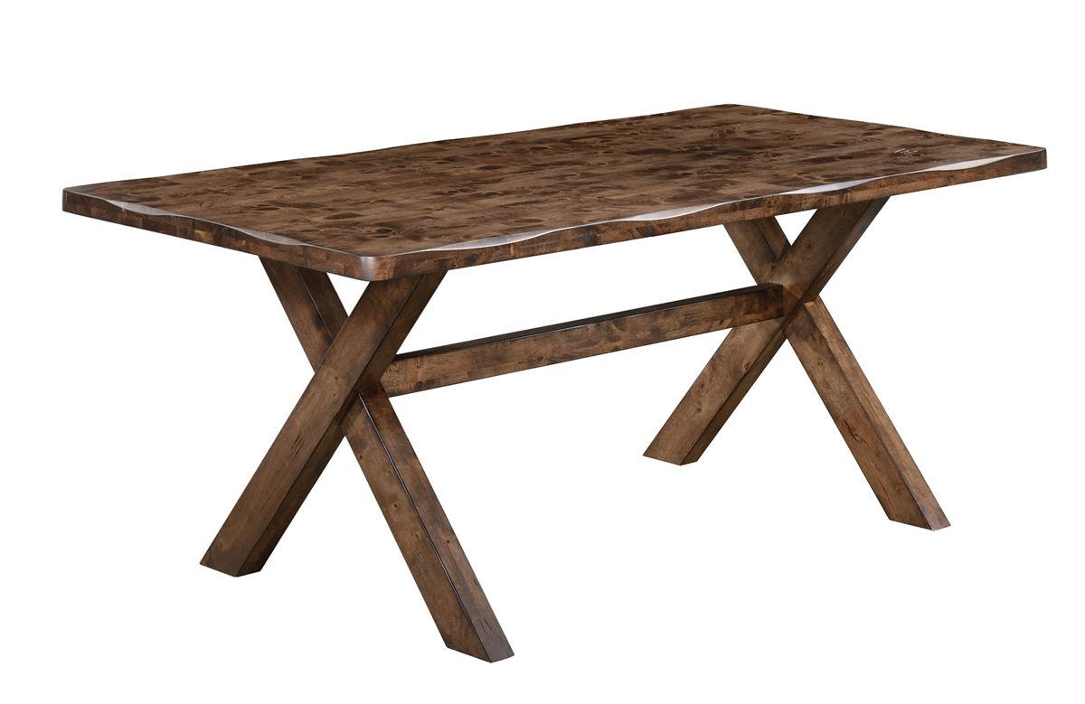 Coaster furniture alston knotty nutmeg grey wood dining