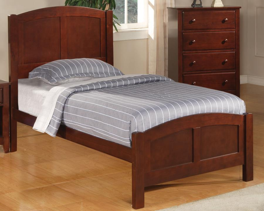 Parker Traditional Cappuccino Twin BedCST-400291T