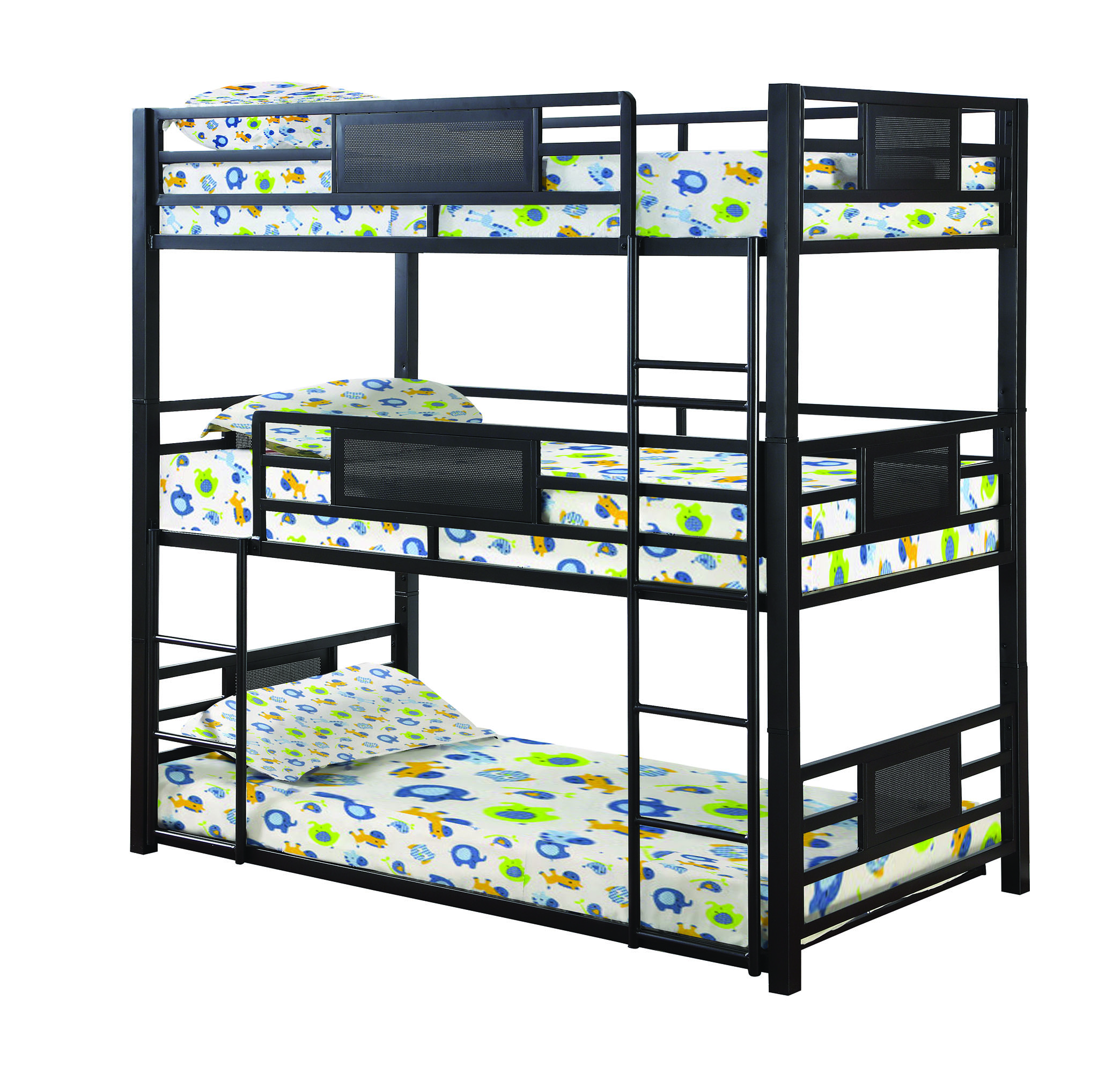 Coaster Furniture Rogen Twin Triple Bunk Bed The Classy Home