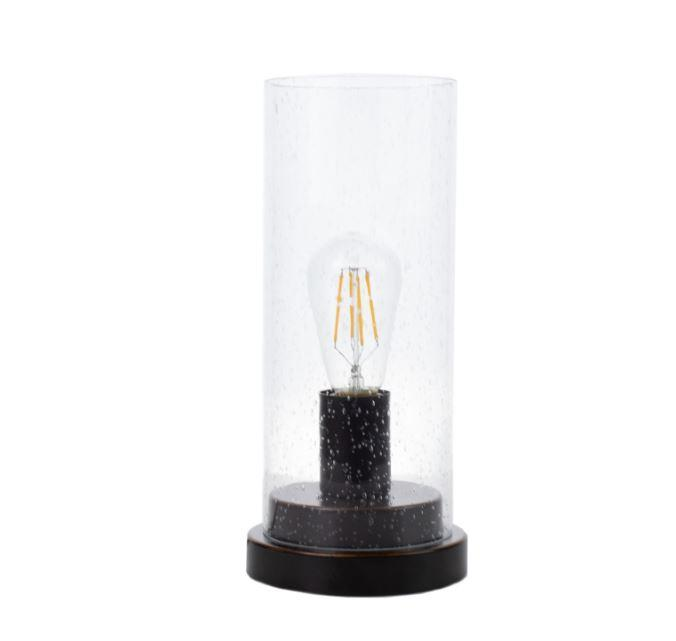 Coaster Furniture Clear Glass Table Lamp