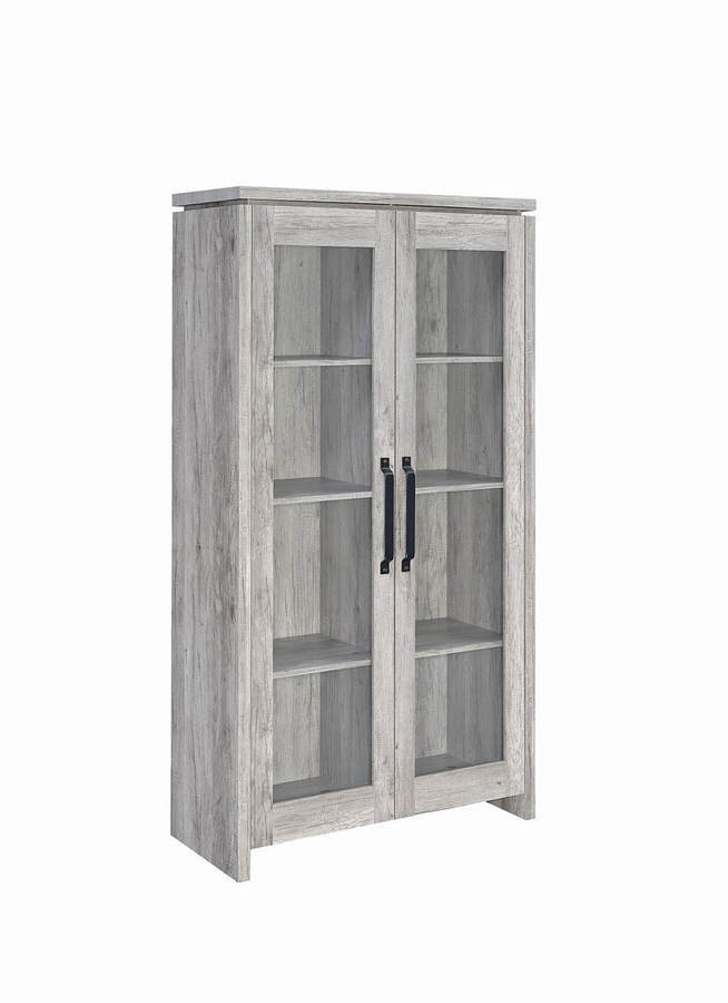 Coaster Furniture Rustic Grey Tall Cabinet | The Classy Home