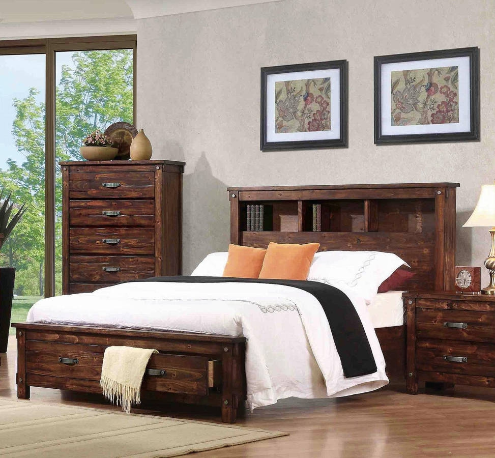 Coaster Furniture Noble Queen Bed The Classy Home