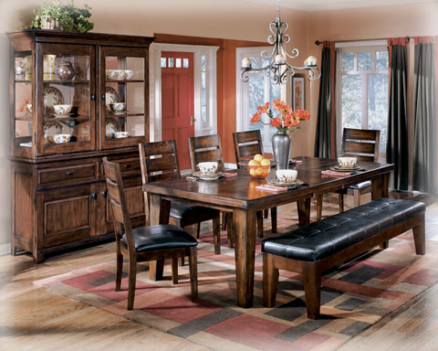Ashley Furniture Larchmont Dining Room Extension Table
