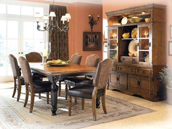 Rowley Creek 7pc Dining Room Set The Classy Home The Classy Home Best Deal Furniture