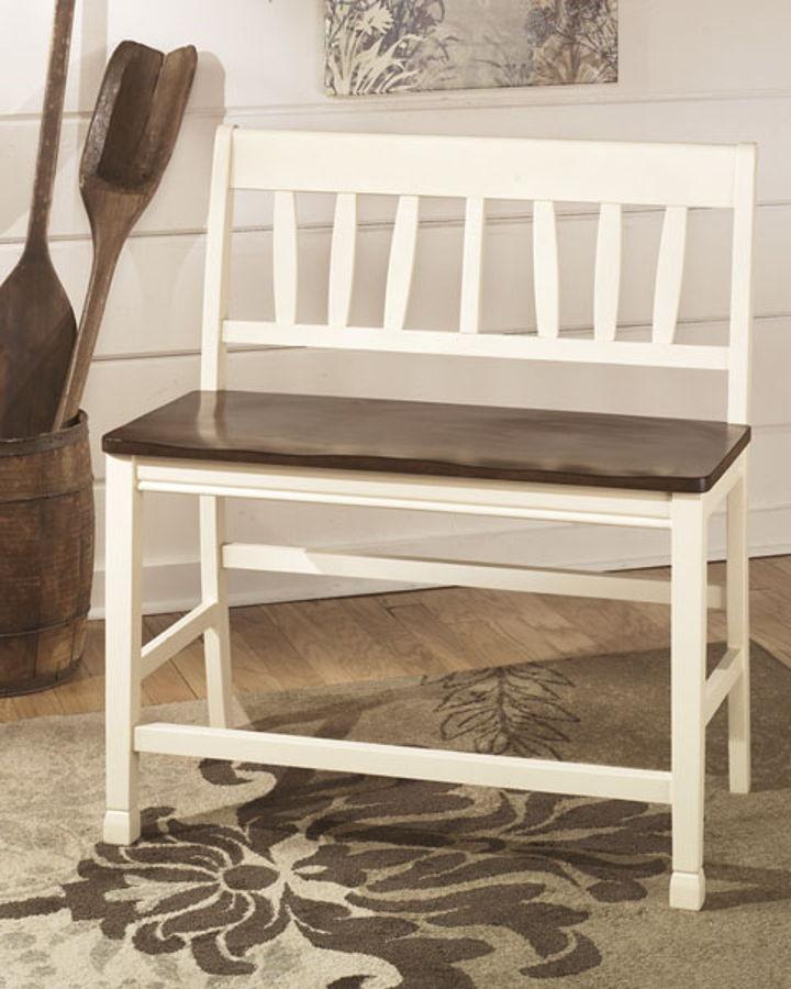 2 Ashley Furniture Whitesburg Double Barstools