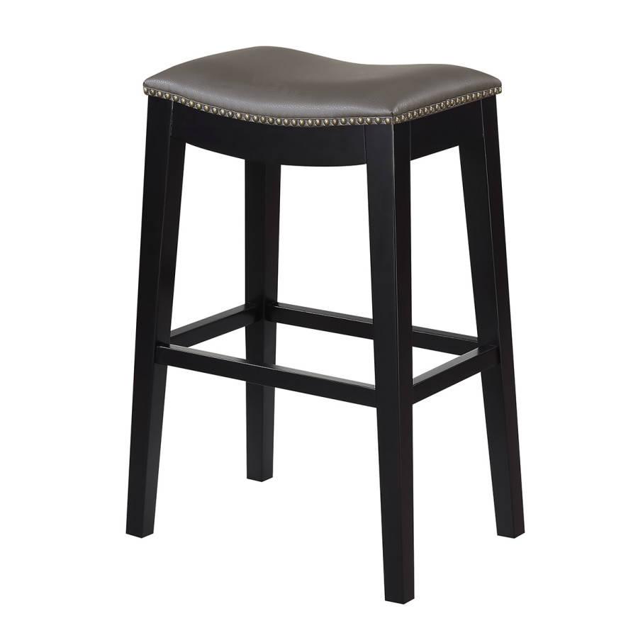 Wondrous 2 Emerald Home Briar Gray 30 Inch Bar Stools Inzonedesignstudio Interior Chair Design Inzonedesignstudiocom