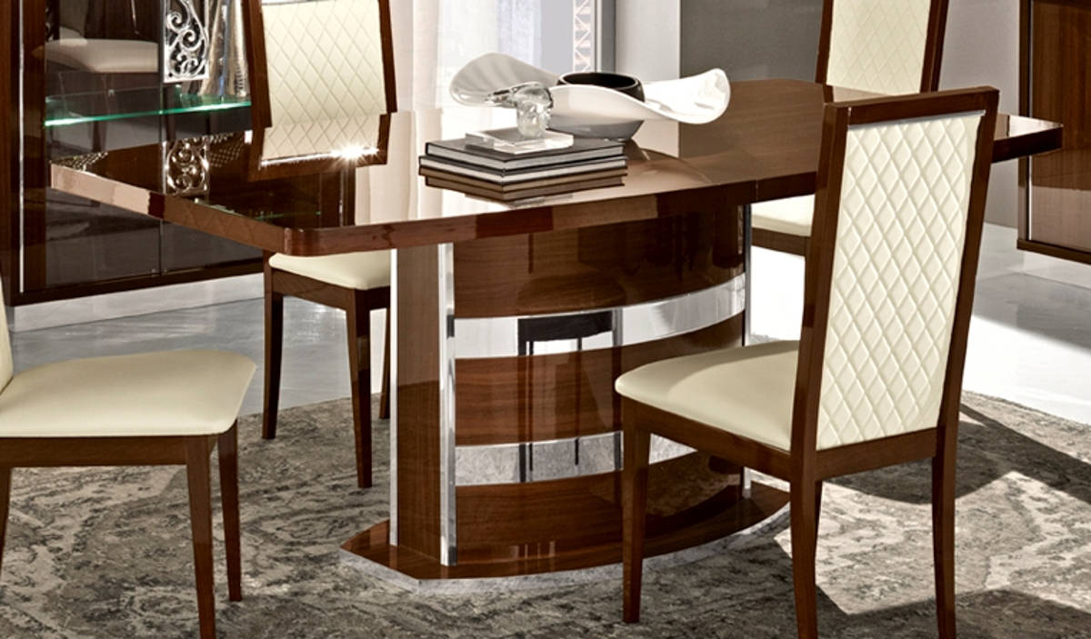 Terrific Esf Camelgroup Italy Roma Walnut Dining Table Download Free Architecture Designs Grimeyleaguecom