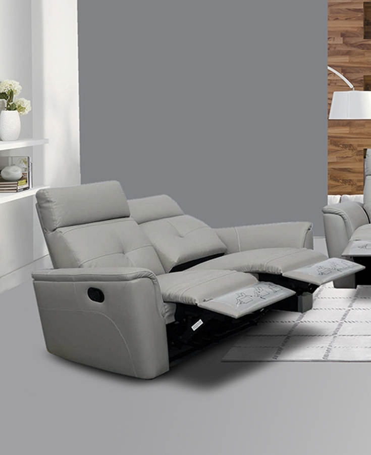 Admirable Esf Extravaganza 8501 Light Grey Recliner Loveseat Gmtry Best Dining Table And Chair Ideas Images Gmtryco