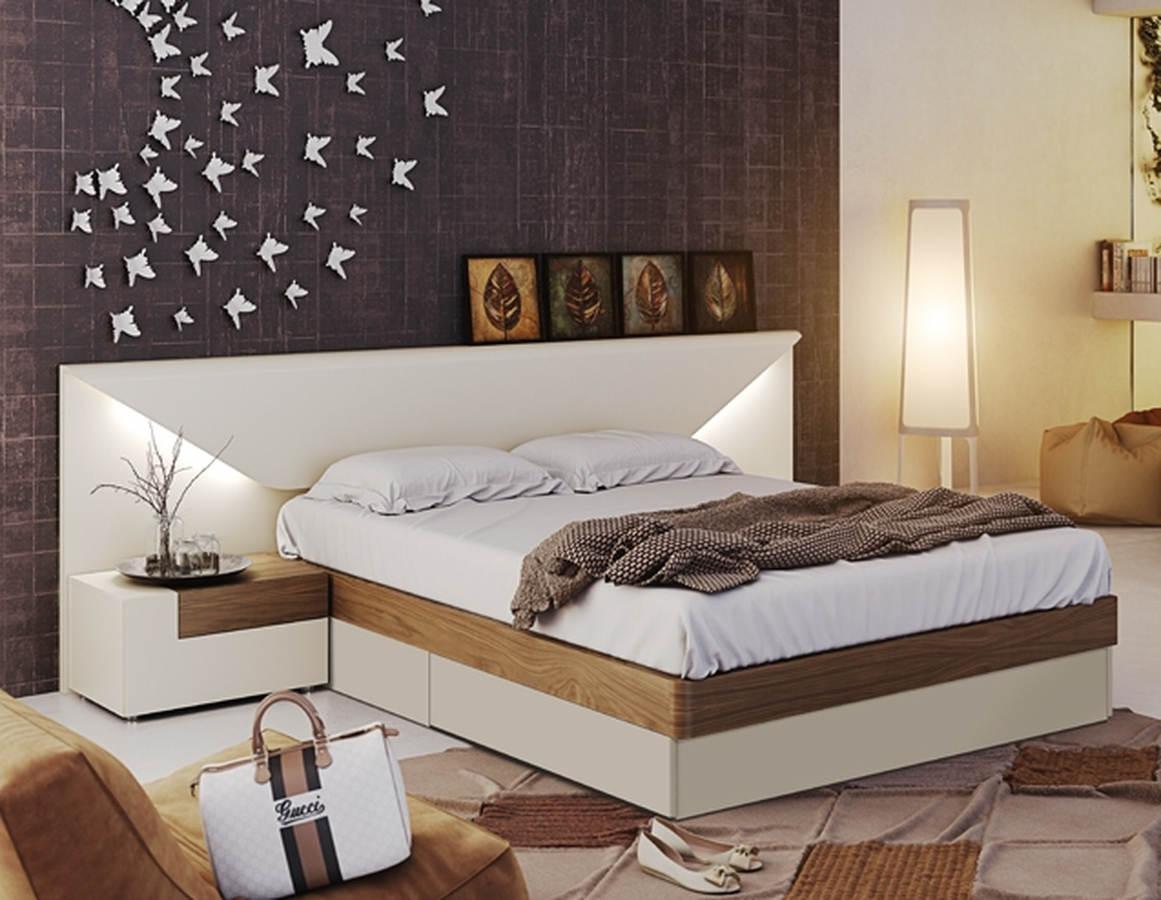 ESF Garcia Sabate Spain Elena Off White Creamy 3pc Bedroom Set with King  Storage Bed