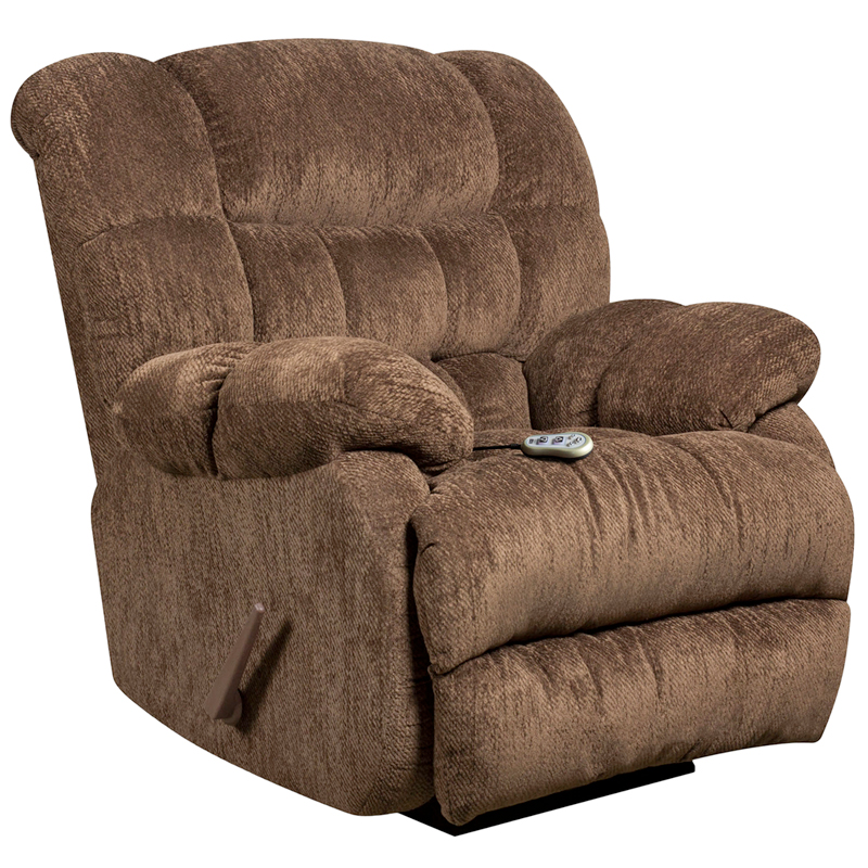 Flash Furniture Columbia Mushroom Massage Recliner With Heat Control | The  Classy Home