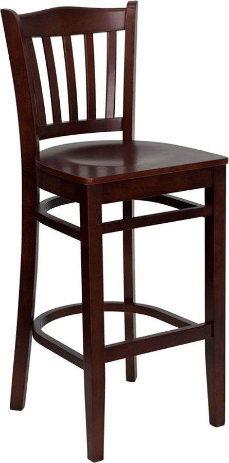 Flash Furniture Hercules Mahogany Wood Restaurant Bar