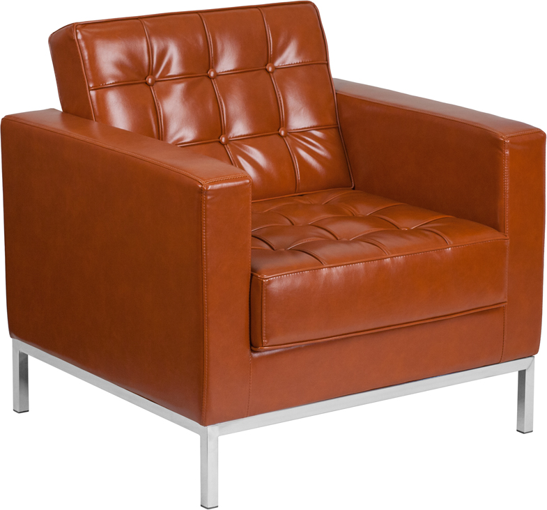 Flash Furniture Hercules Lacey Cognac Chair Click To Enlarge ...