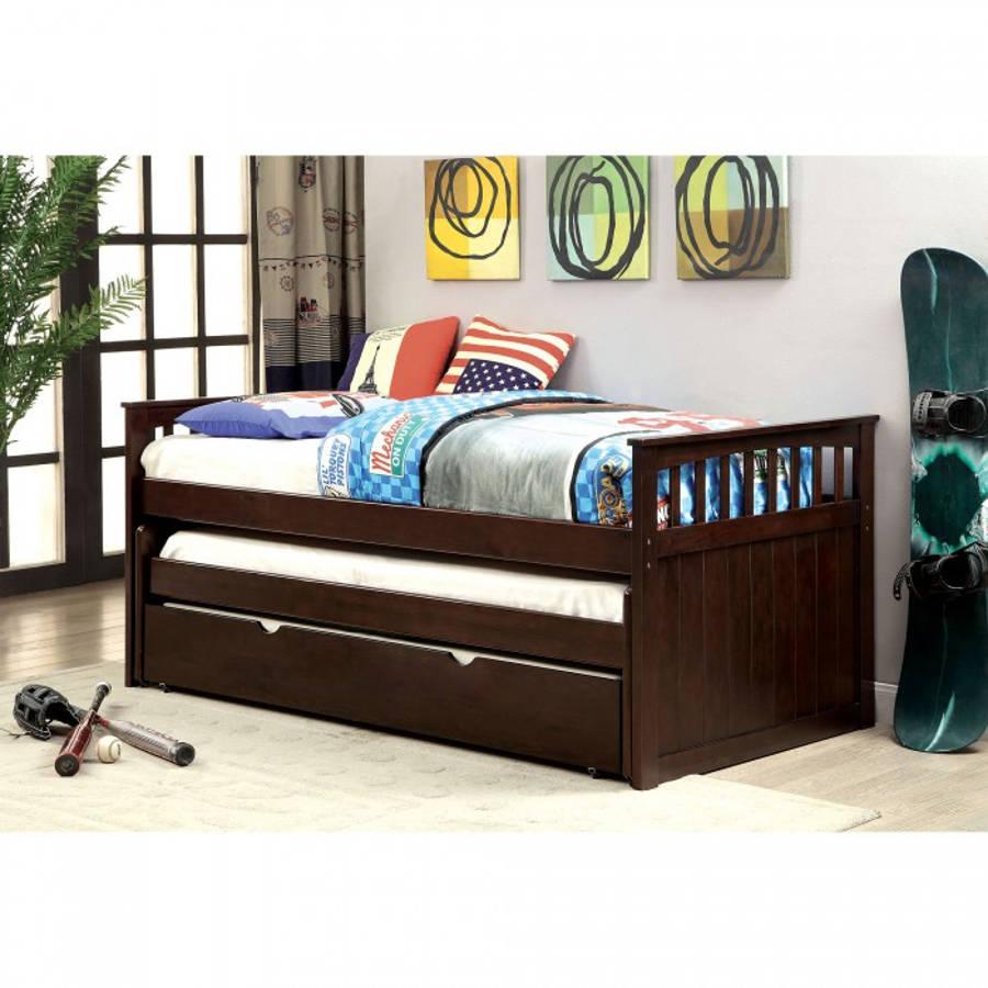 Furniture of america gartel nesting daybed trundle not for Furniture of america daybed