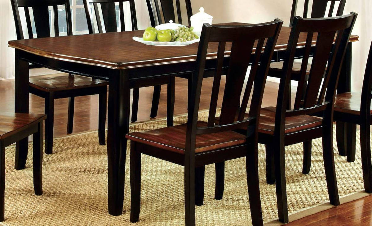 Furniture of America Dover Black Cherry Dining Table