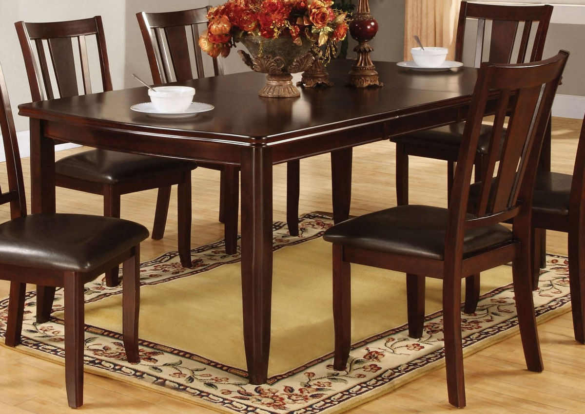 Furniture of America Edgewood I Espresso 9pc Dining Room Set