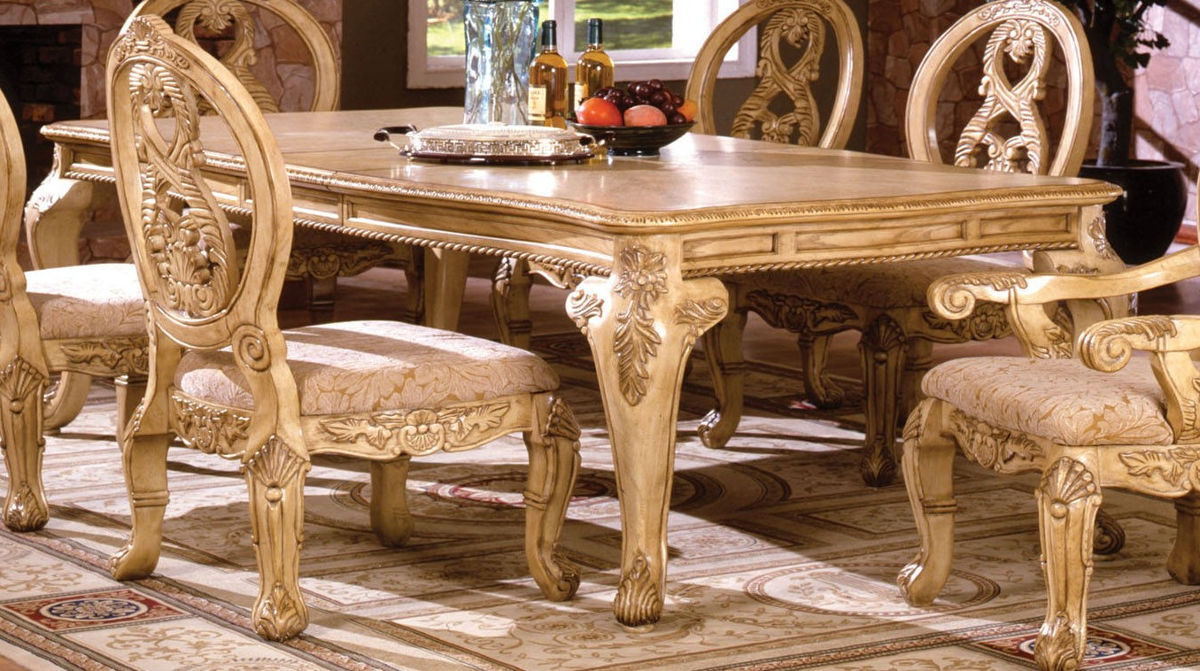 Furniture of America Tuscany III Formal Dining Table