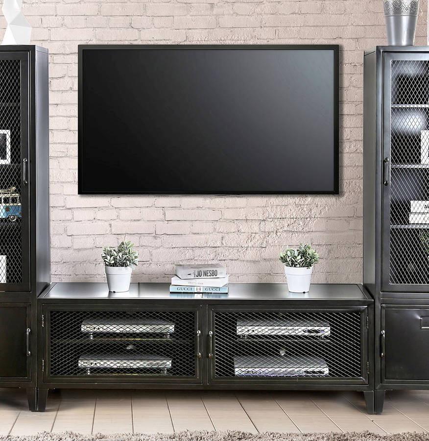 Furniture Of America Clonakitty 60 Inch Tv Stand The Classy Home