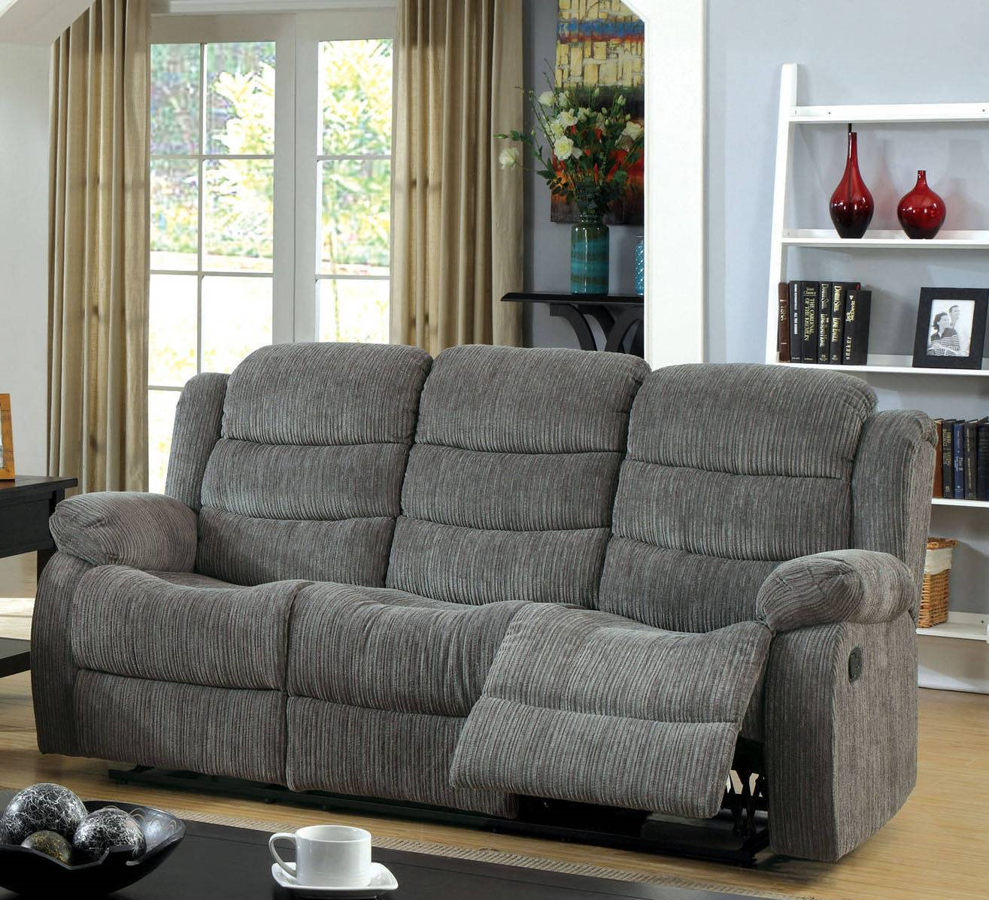 Furniture Of America Millville Motion Sofa The Classy Home