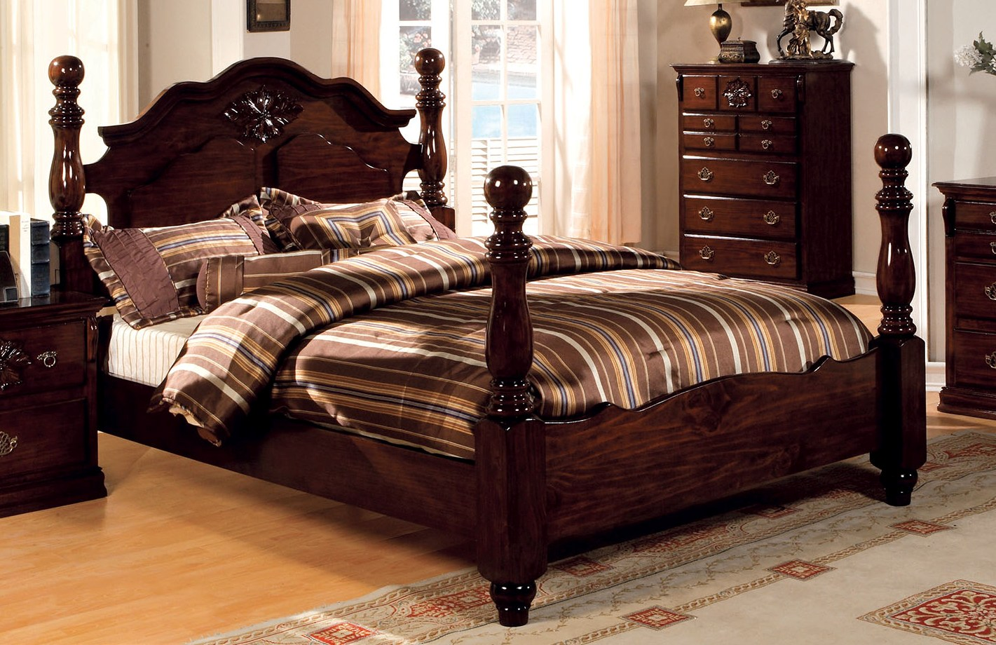 Furniture of america tuscan ii queen bed the classy home for Furniture of america bed reviews
