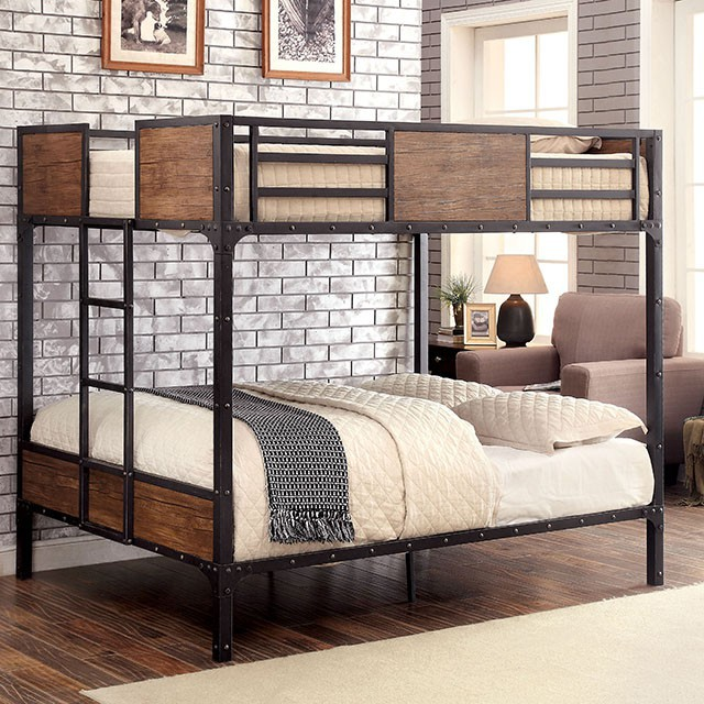 Furniture Of America Clapton Full Over Full Bunk Bed The Classy Home