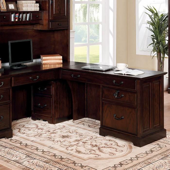 Furniture of America Tami Corner Desk