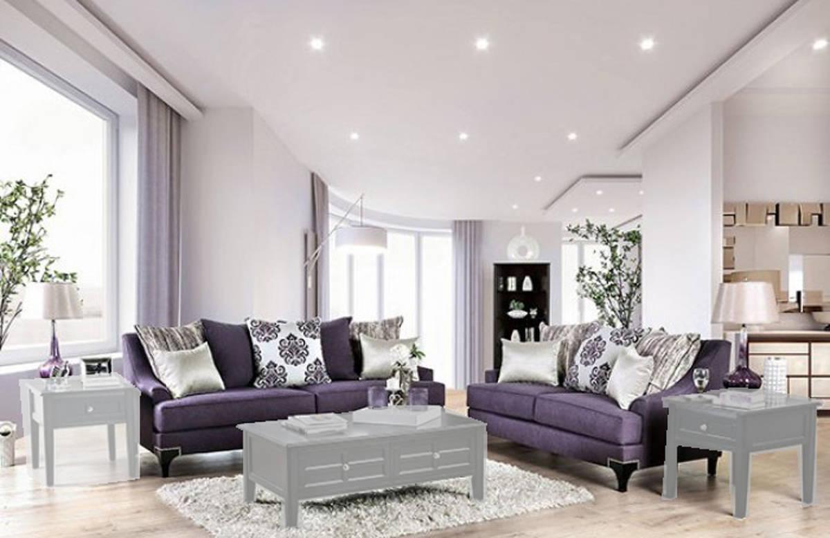 Furniture Of America Sisseton Purple