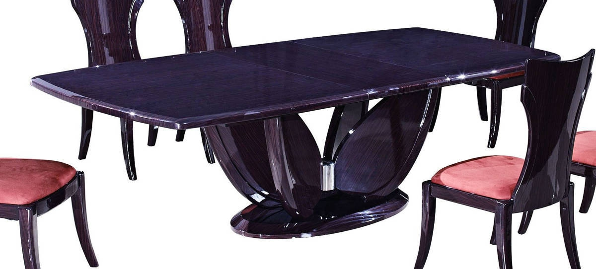 D52 Series Wenge Wood Dining Table Wenge The Classy Home