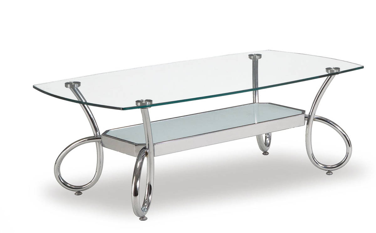 Global Furniture T559 Silver Coffee Table