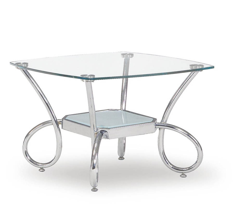Global Furniture T559 Silver End Table
