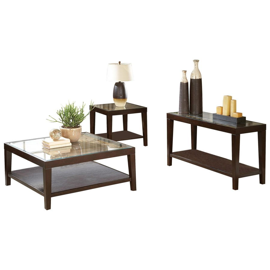 Wondrous Home Elegance Vincent Espresso 3Pc Coffee Table Set Pdpeps Interior Chair Design Pdpepsorg