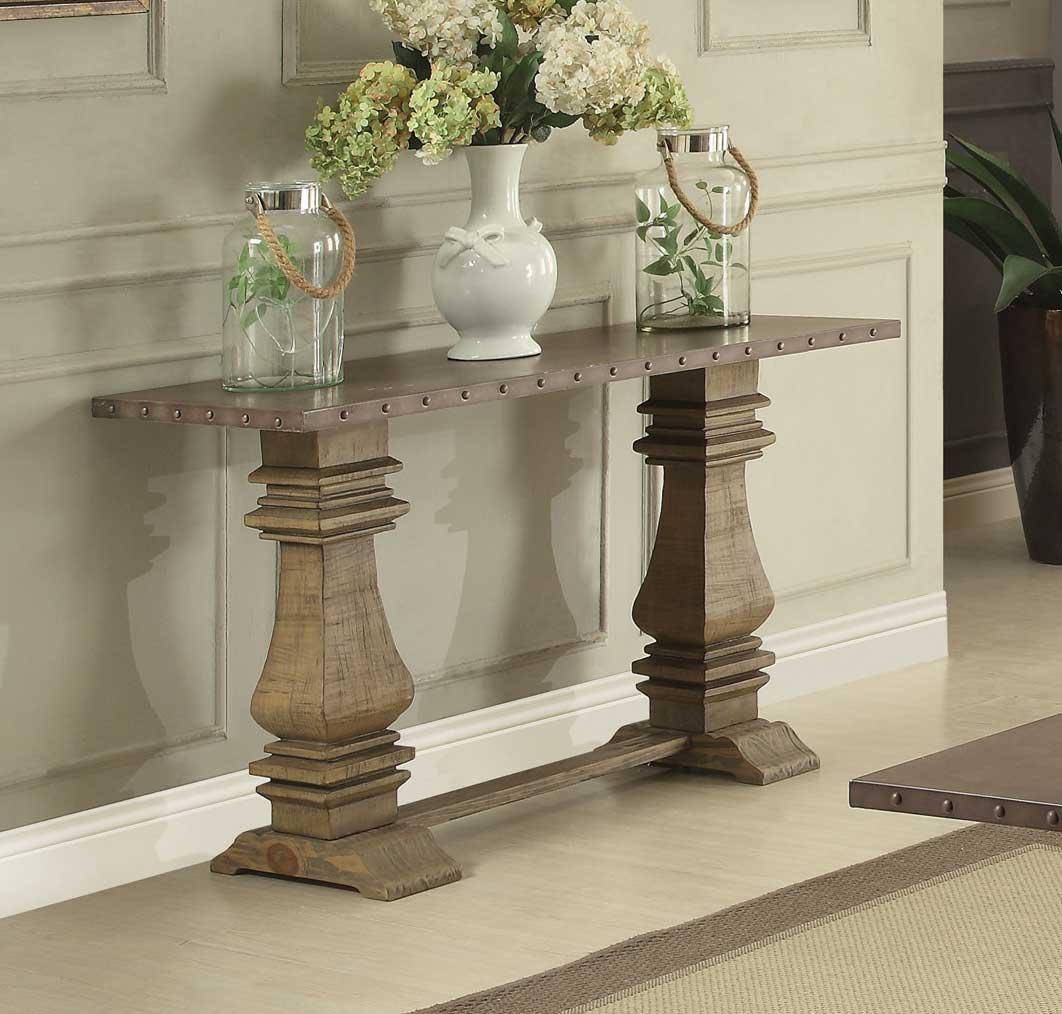 Home Elegance Anna Claire Driftwood Sofa Table