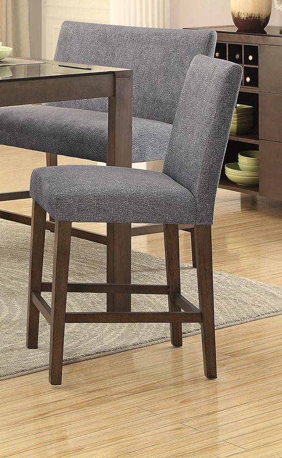 Stupendous 2 Home Elegance Fielding Brown Grey Counter Height Chairs Inzonedesignstudio Interior Chair Design Inzonedesignstudiocom