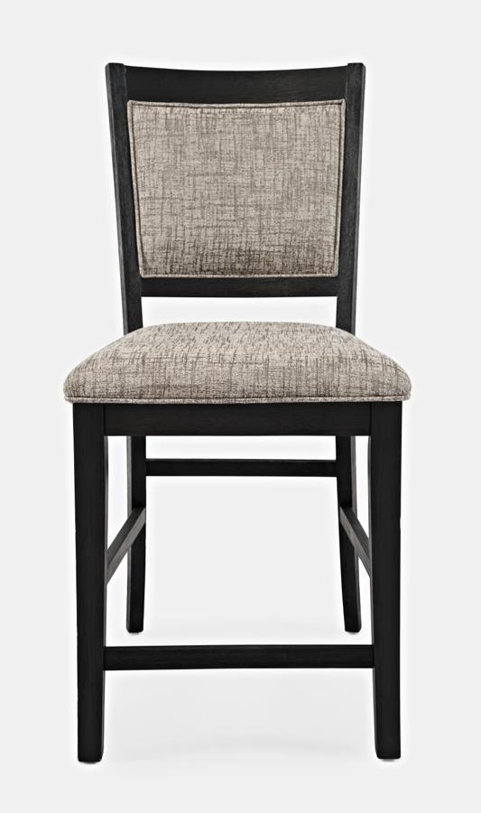 Surprising 2 Jofran Furniture Altamonte Dark Charcoal Upholstered Counter Stools Pdpeps Interior Chair Design Pdpepsorg