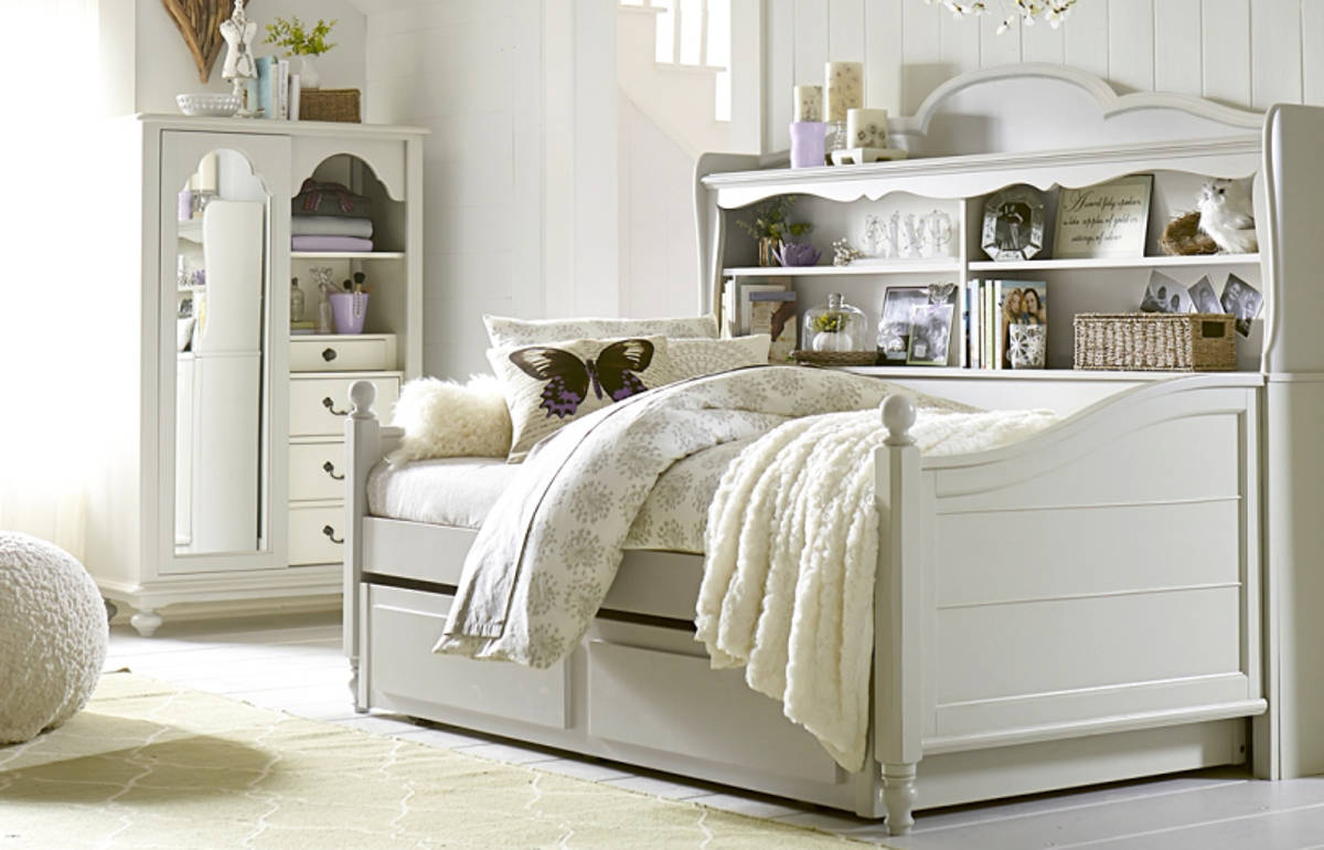 Legacy Kids Inspirations By Wendy Bellissimo Mist Twin Bookcase Trundle Daybed